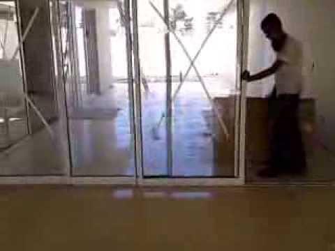 Porta De Correr Em Alum 237 Nio 4 Folhas Youtube