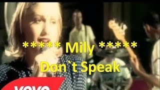No Doubt - Don't Speak subtitulado Español Ingles