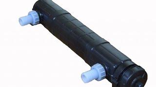 Ремонт ультрафиолетовой лампы для очистки воды Pondtech UV-PL55.(Ремонт ультрафиолетовой лампы для очистки воды Pondtech UV-PL55. ------------------------------------------------------------------------------------------..., 2015-03-22T19:11:07.000Z)