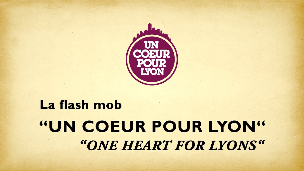 flash mob un coeur pour lyon 2012 youtube. Black Bedroom Furniture Sets. Home Design Ideas