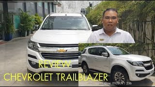 Review Chevrolet Trailblazer tại Chevrolet Nam Hải Bà Rịa Vũng Tàu