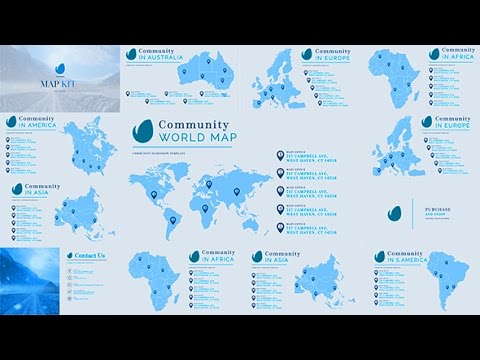 Map world map kit generator for business after effects map world map kit generator for business after effects template sciox Images