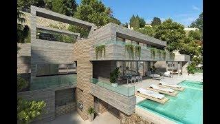 Espagne Vente villa de luxe déco intérieure moderne Baie de Calpe : On découvre la Costa Blanca