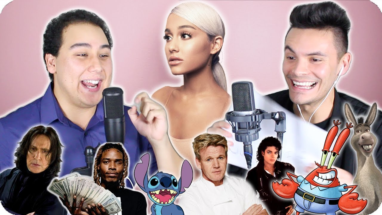 Ariana Grande Thank U Next Impersonation Cover Live One Take