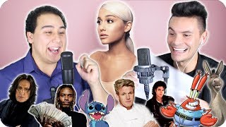 "Ariana Grande - ""Thank U, Next"" Impersonation Cover (LIVE ONE-TAKE!)"