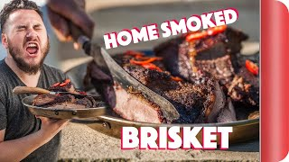 Trying to Smoke Brisket at Home - An Experiment