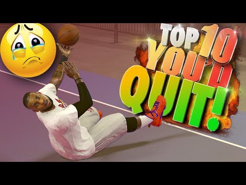 TRICK SHOTS That Would Make You QUIT - NBA 2K17 TOP 10 Highlights