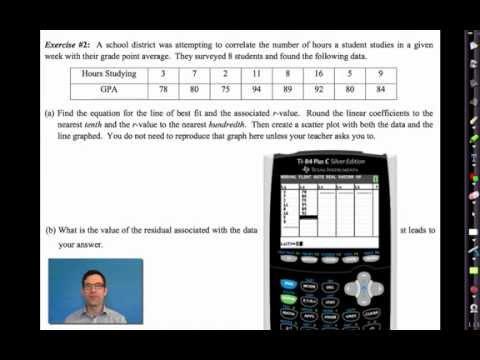Common Core Algebra I.Unit #10.Lesson #10.Residuals by eMathInstruction