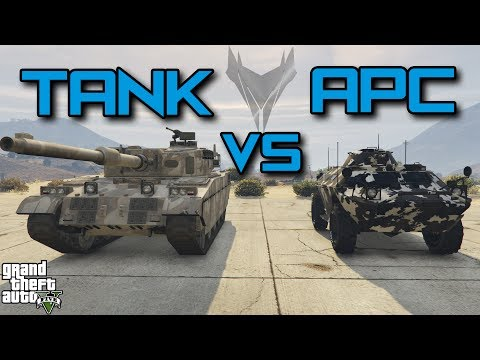 TANK vs APC : WHICH ONE IS BETTER (GTA 5)