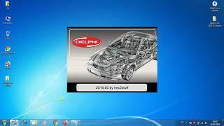 Instalation et Activation Delphi cars 2016.R1