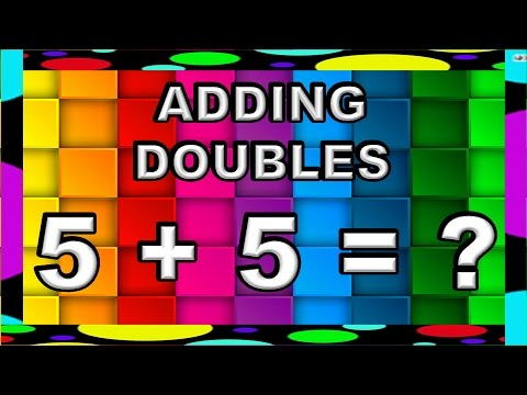 First Grade Math - Adding Doubles (LEARN HOW TO ADD DOUBLES) - YouTube