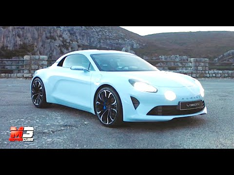 new renault alpine vision concept 2016 first test drive eng ita sub youtube. Black Bedroom Furniture Sets. Home Design Ideas