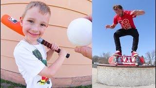 ADIML 61: Dad & Son Baseball / Skateboarding!
