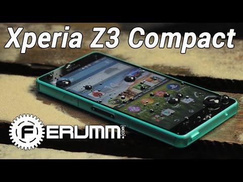 Sony Xperia Z3 Compact подробный обзор. Главные особенности Xperia Z3 Compact от FERUMM.COM