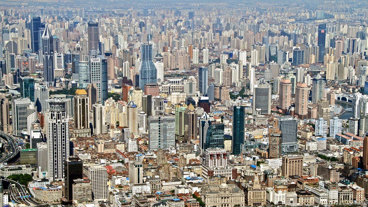 11 China Shanghai City