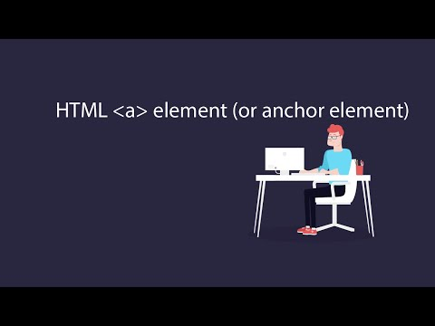 The HTML Anchor Element #HTML & CSS Complete Tutorial