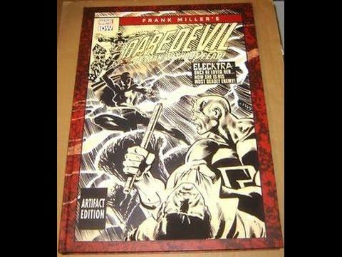 It's My Frank Miller Daredevil Artifact Edition!