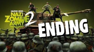 Sniper Elite Nazi Zombie Army 2 - Gameplay Walkthrough ENDING