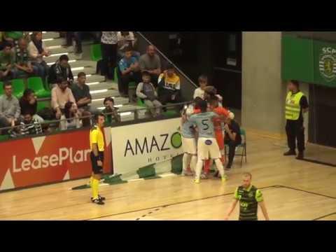 Liga Sport Zone, 2.º jogo quartos-de-final: Sporting CP 5-3 CD Burinhosa