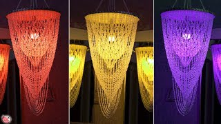 All 4 Beautiful Chandelier Wall Hanging !!! Handmade Pearls Craft