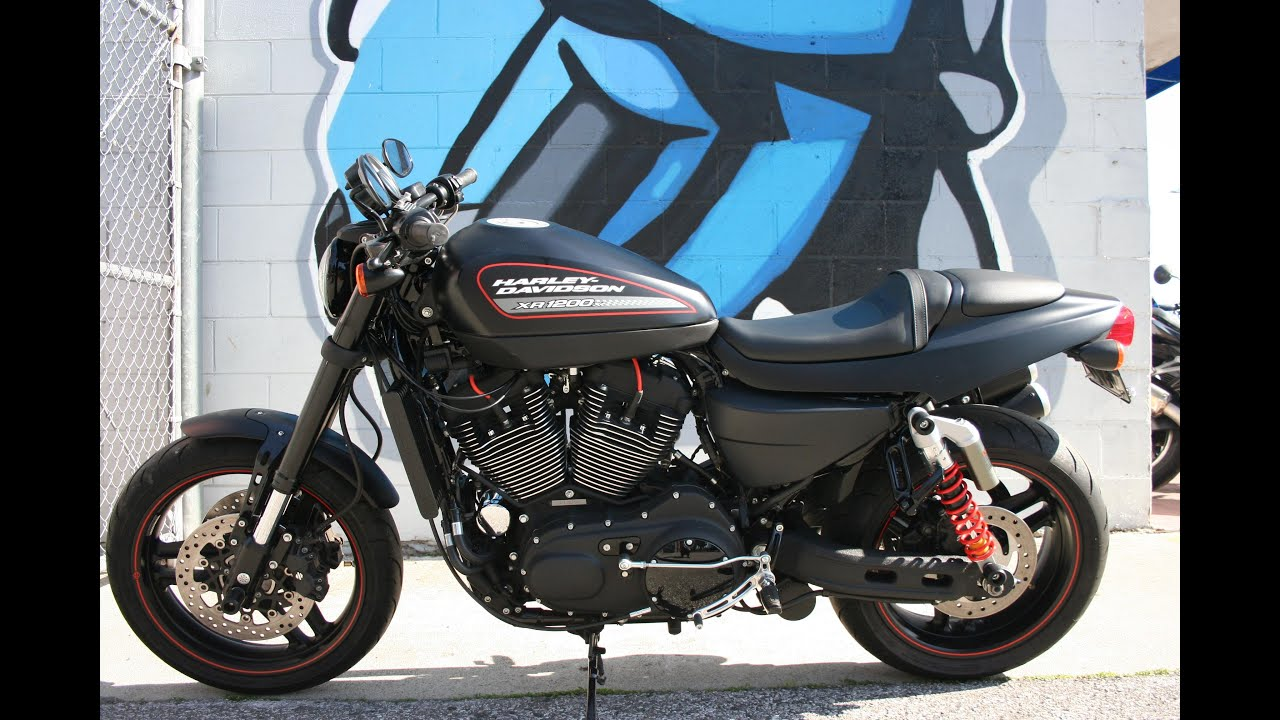2011 Harley Davidson XR1200 X motorcycle... Sounds Great w/ Vance ...