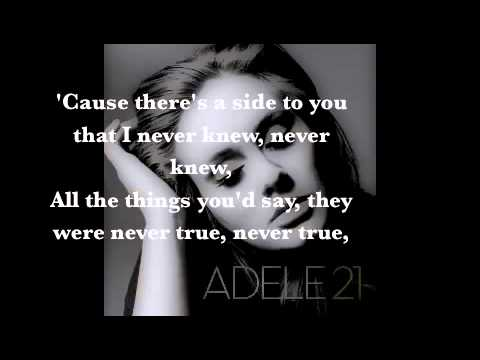 Adele - Set Fire to the Rain Lyrics | Musixmatch