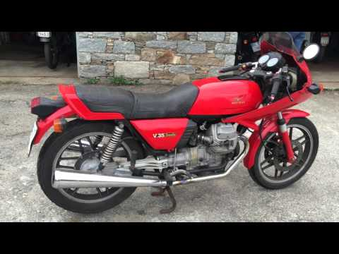 moto guzzi v35 imola 1983 youtube. Black Bedroom Furniture Sets. Home Design Ideas
