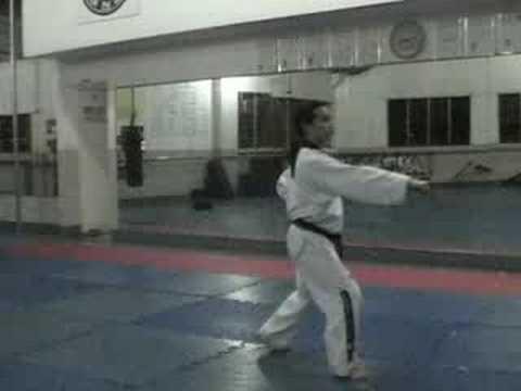 Taekwondo Poomsae - Taegeuk Form #2