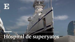 Un hospital para los superyates en el Port Vell