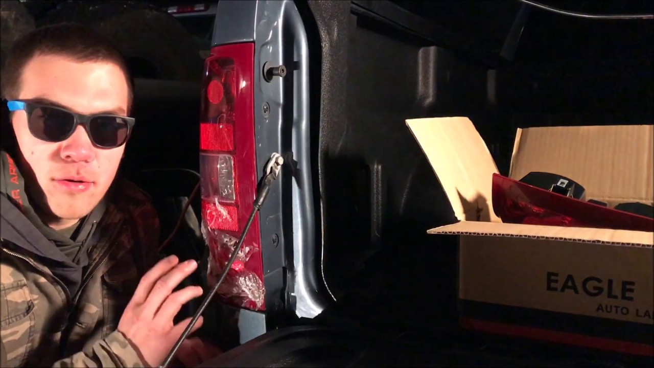 Replace A Bashed Tailight