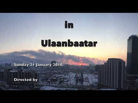 A Cold Day in Ulaanbaatar