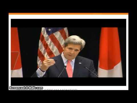 John Kerry United States Secretary of State Speech In Japan Today : China N. Korea
