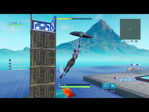 Making a 1v1 map for my buddes #Trench get on fortnite