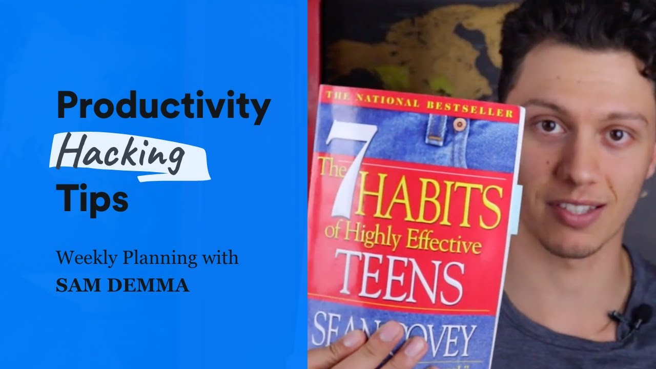 SLN Productivity Tip - Weekly Planning w/ Sam Demma