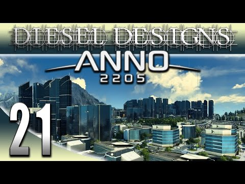 Anno 2205 Gameplay: EP21: Corporate Buyout & Expansion! (Futuristic City Building Series 1080p)