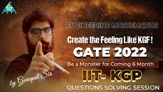Create the Feeling Like KGF! IIT-KGP GATE 2022 | Question Solving Session