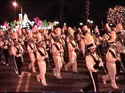 Bonita Vista High School and Bonita Vista Middle School Chula Vista Starlight Yule Parade 2001