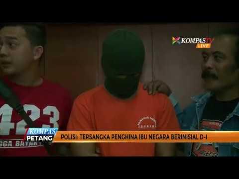 Penghina Ibu Negara Iriana Ditangkap di Palembang