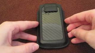 Ion Factory Carbon Fiber Pouch for the iPhone 4 Review