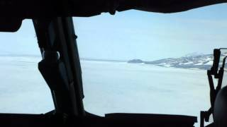 Landing in Antarctica via C-17.MP4