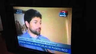 Gabriel Salcedo en Canal 3 de Puerto Rico, Misiones