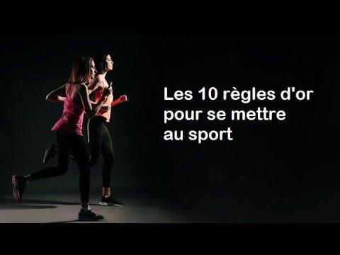 Les 10 règles d'or pour se mettre au sport
