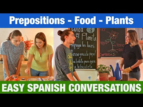 learn-basic-spanish-|-easy-spanish-conversations-|-prepositions---food---plants