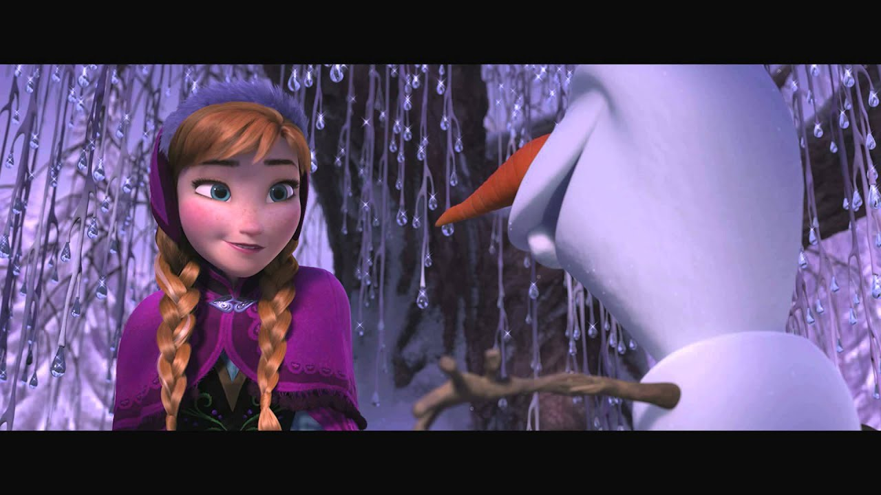 anna and olaf meet the trolls