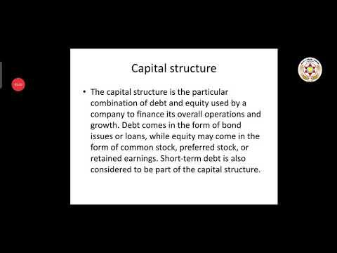 Basic Business Finance - (Unit 3 & 4) - B.com(CA) - 2nd year
