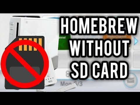 Homebrew The Nintendo Wii WITHOUT An SD Card Or The Internet Channel! (str2hax 2019 Tutorial)