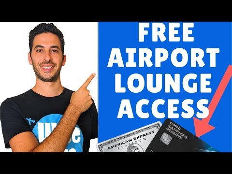 Top 3 Cards That Offer Free Airport Lounge Access | Priority Pass And Centurian Lounge