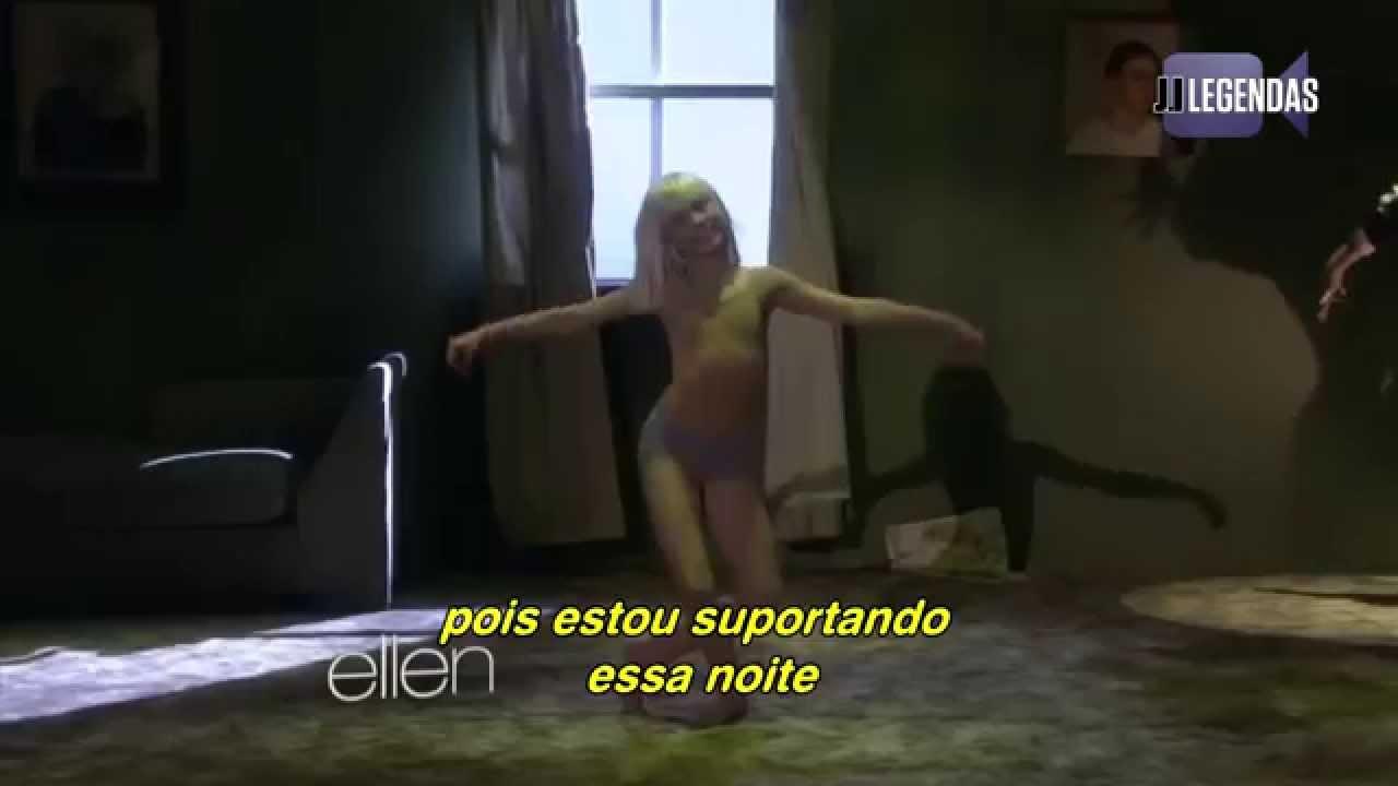 Sia chandelier legendado traduo live at ellen show youtube arubaitofo Image collections