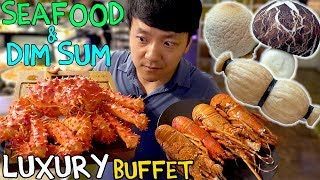 All You Can Eat SEAFOOD Buffet & LUXURY Dim Sum in Taipei Taiwan: Taiwan Food Tour thumbnail