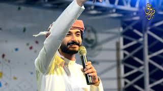 قصيدة الحال متردي للشاعر والمنشد ابو حور على مسرح مهرجان الجبل الأبيض